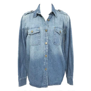 Epaulet Vintage Denim Shirt