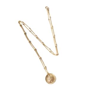 14kgf Coin Necklace