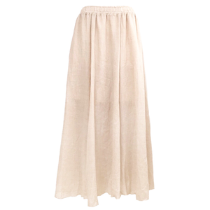 Slab Long Skirt (Beige)