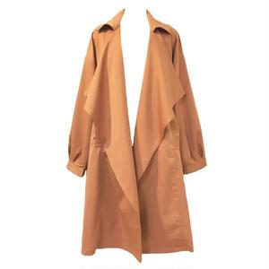 Drape Trench Coat (Terracotta)