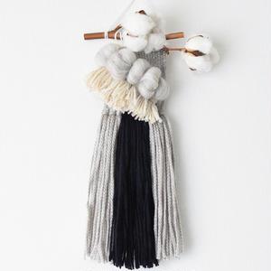 weaving S bird -gray-