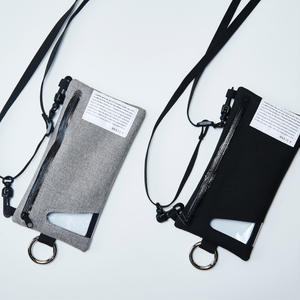 Flat hang pouch(iphone6/6s/7/8 /iphoneX/Xs対応サイズ)