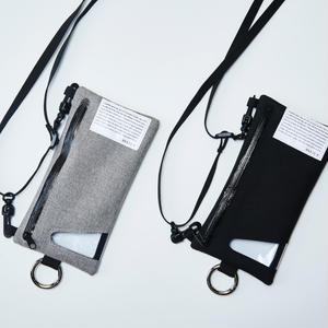 Flat hang pouch(iphone6/6s/7/8 /iphoneX対応サイズ)