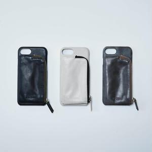 Aging leather case (iphoneX対応サイズ)