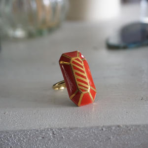 chasochimi // ring  (red)