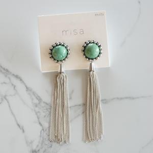 misa // ピアス tassel