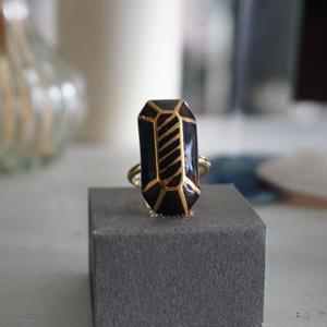 chasochimi // ring  (brown)