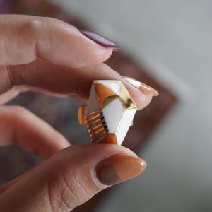 chasochimi // ring   和風宝石ドローイングリング A