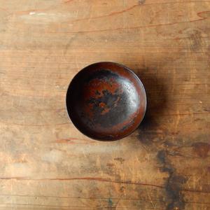 antiques 輪島塗  朽ちた小皿