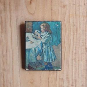antiques ピカソの「Le Gourmet」の絵のパネル