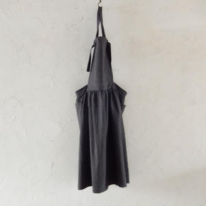 COCOLO Linen Dress apron(Grey)