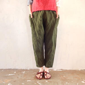 takuroh shirafuji Chao Phraya[Sarouel Pants : Olive]
