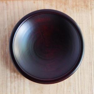 福田敏雄 栗皿 7.8寸(拭き漆)