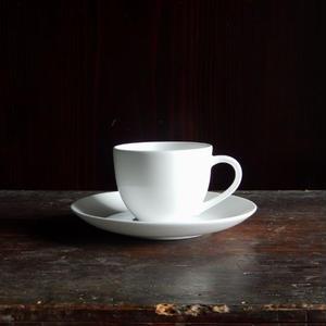 柳宗理 ボーンチャイナ  コーヒーカップ・ソーサー