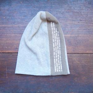 takuroh shirafuji Print Knit cap