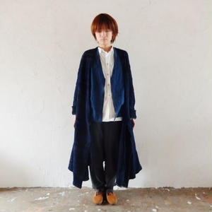 takuroh shirafuji x trico1947[Indigo dye Coat : One and only]