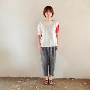 takuroh shirafuji Levain Languid 2nd [Tops : Linen : woman ]