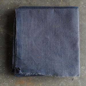 古道具 藍染の木綿