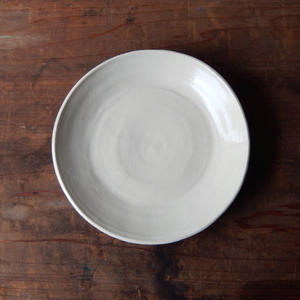 tokiki  7.5寸皿(九谷の半磁器土)