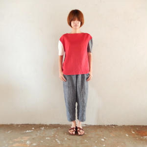 takuroh shirafuji Levain Languid 2nd [Tops : Linen : woman]