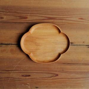 四十沢木材工芸  桜小皿   もっこう size M