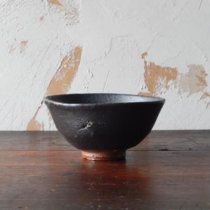 鶴野啓司  黒釉碗①