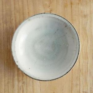 広川絵麻  六寸リム皿(白)