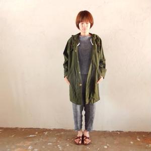 takuroh shirafuji x bitebyyourskin [Shirt coat(Khaki): Women]