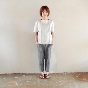 takuroh shirafuji Levain Languid 2nd [Tops : Linen : woman ]