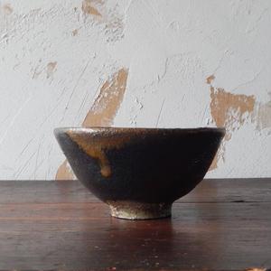 鶴野啓司  黒釉碗②