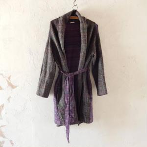 takuroh shirafuji Wool Gown Coat