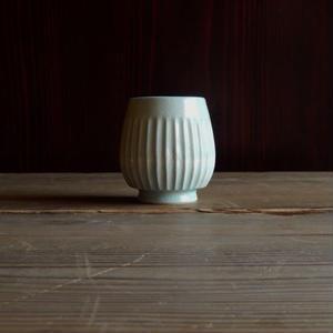 yöc.  鎬のフリーカップ(薄水色)