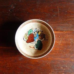 古道具 絵付けされた膾皿