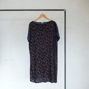 takuroh shirafuji Tonepiece[Dress:Dot(blue)]