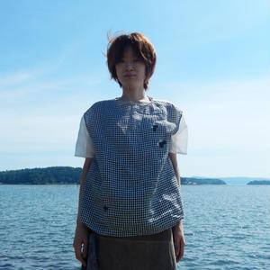 ヤマザキナホコ × takuroh shirafuji Levain Languid [Tops : Linen x Gauze ]ⅳ