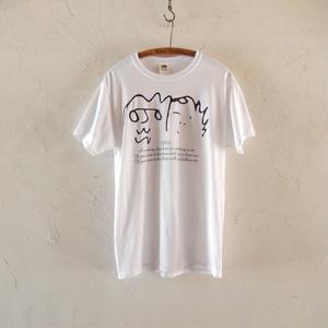 takuroh shirafuji YES, T-shirts(white)
