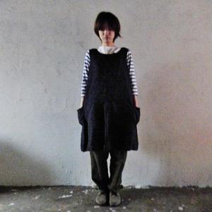 takuroh shirafuji Tablier [Onepieceapron : Stripe]
