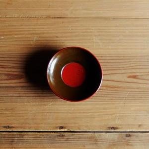 古道具  浄法寺塗 豆皿②