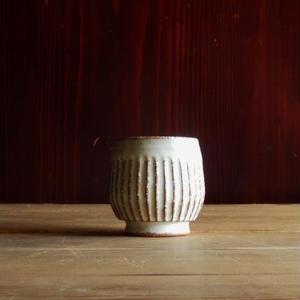 yöc.  鎬のフリーカップ(白)