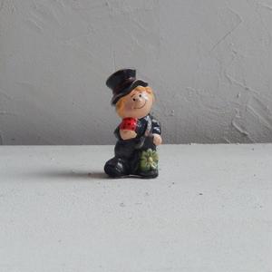 antiques  煙突掃除夫の置物