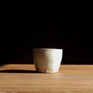 広川絵麻  蕎麦猪口(白)