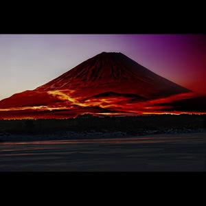 <フォトアクリル>「レッドドラゴンRedDragon」(Sサイズ)
