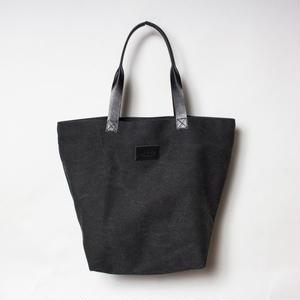 "Aloha Canvas Tote Bag ""ブラック"""