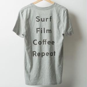 "Sunshine Beach Club '17 Summer ""Surf, Film, Coffee, Repeat"" バックプリント"