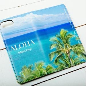 【ALOHA Island Days Collection】マグネットタイプiPhoneケース-Kaanapali-