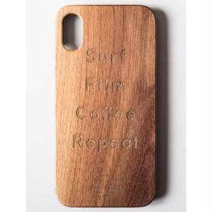 "Wooden iPhone Cover ""SBC Back Print"""