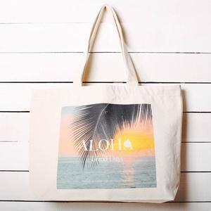 【ALOHA Island Days Collection】トートバッグ-KonaSunset-
