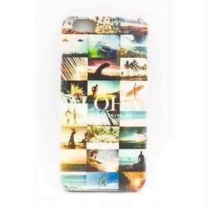 "《BULK SALE》iPhone6Plus対応 ウッドケース ""Photo collage ALOHA"""