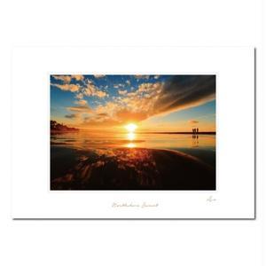 """""""Northshore Sunset"""" マットプリント"""