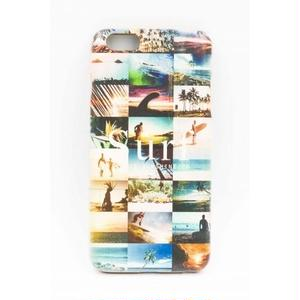 "《BULK SALE》iPhone6Plus対応 ウッドケース ""Photo collage SURF"""